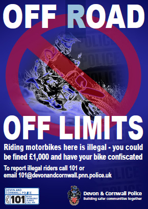 Off Road Off Limits Poster