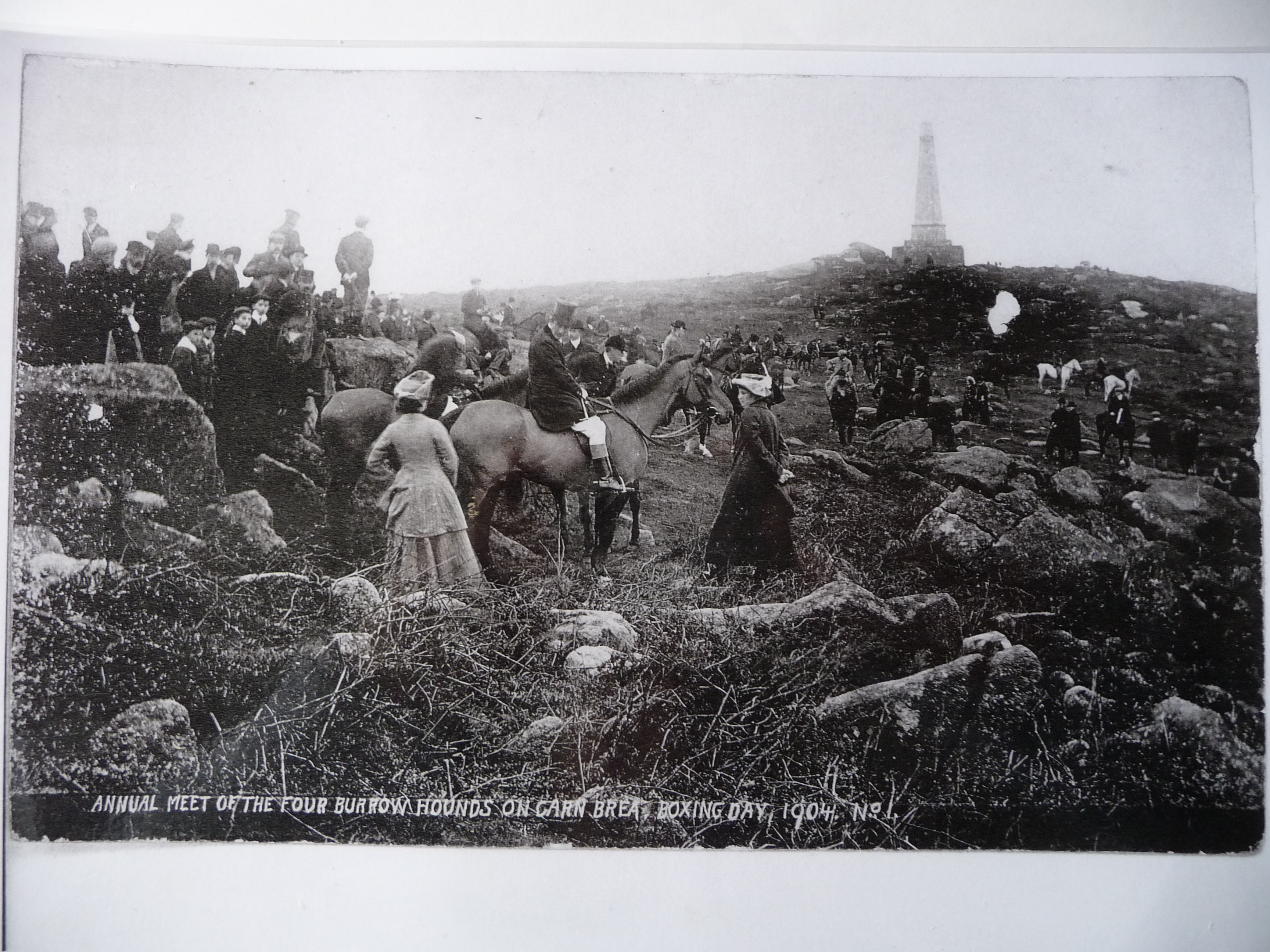 carn brea boxing day 1904