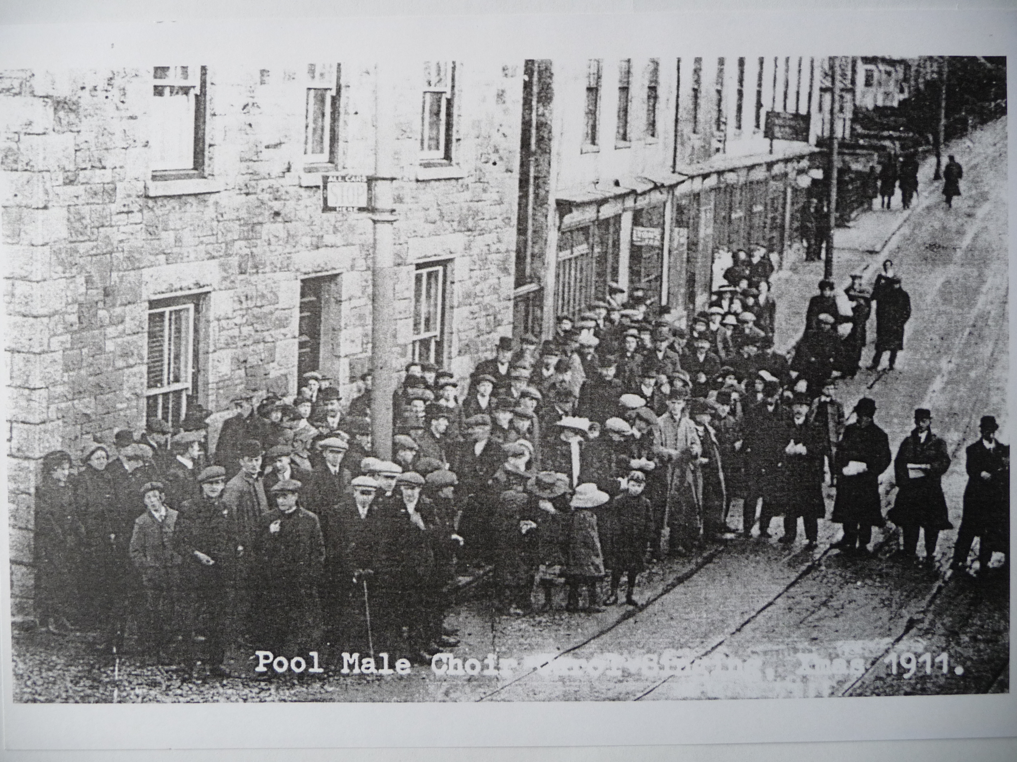 pool male choir xmas 1911